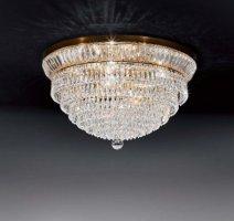 Потолочный светильник Voltolina New Orleans plafoniera 30 Oro