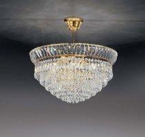 Потолочный светильник Voltolina New Orleans sospensione 60 Oro