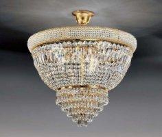 Потолочный светильник Voltolina Osaka sospensione 50 Oro