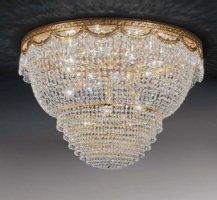 Потолочный светильник Voltolina Pegaso plafoniera 55 Oro
