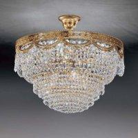 Потолочный светильник Voltolina Pegaso sospensione 55 Oro