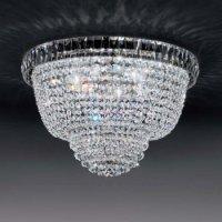 Потолочный светильник Voltolina Roma plafoniera 30 Nikel