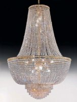 Подвесной светильник Voltolina Settat Impero 100 Oro