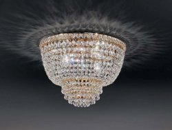 Потолочный светильник Voltolina Settat plafoniera 40 Oro
