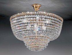 Потолочный светильник Voltolina Settat sospensione 40 Oro