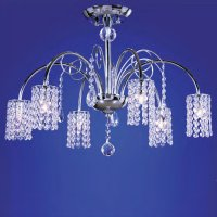 Потолочная люстра Wunderlicht Cristal Stars WL11133-6CH