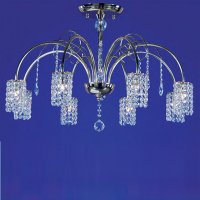 Потолочная люстра Wunderlicht Cristal Stars WL11133-8CH