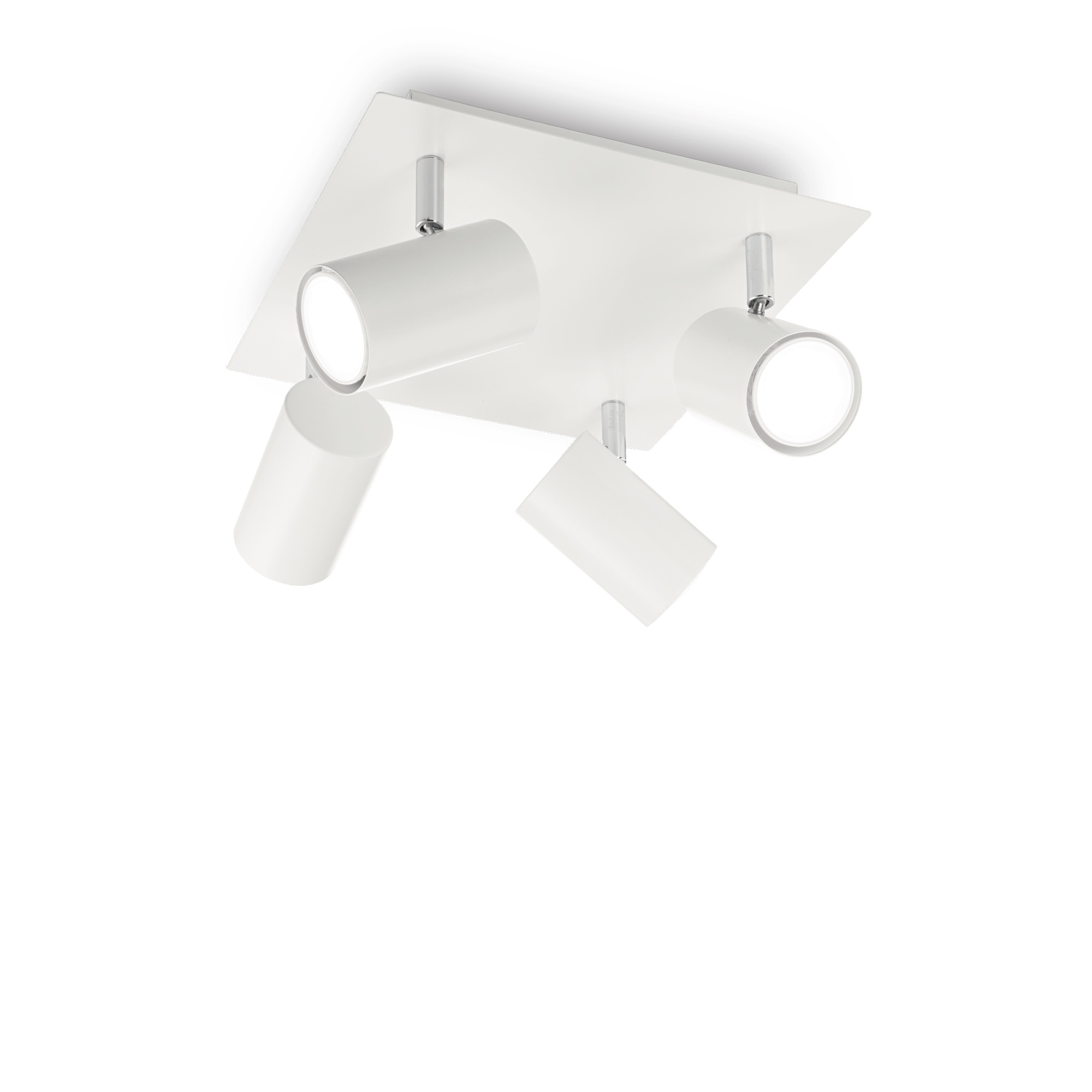SPOT PL4 BIANCO потолочный светильник белый