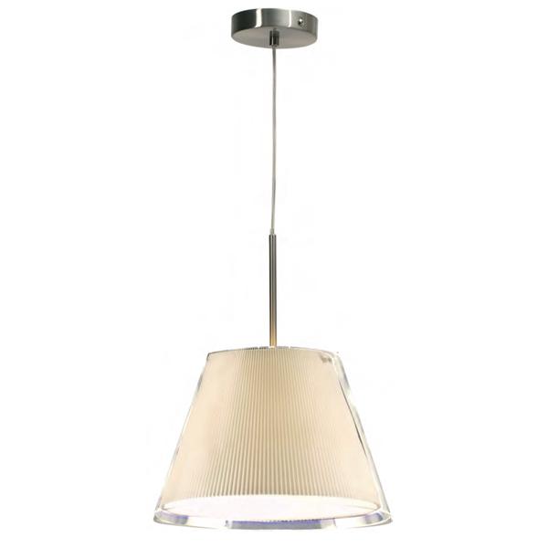 Светильник потолочный Aromas С1093 niquel/tulipa cristal trans.