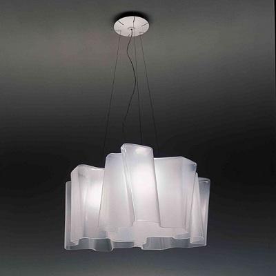 Светильник потолочный Artemide 0454020A Logico sospensione 3x120.set white