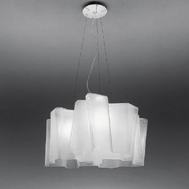 Светильник потолочный Artemide 0698020A LOGICO MINI sospensione 3x120.set