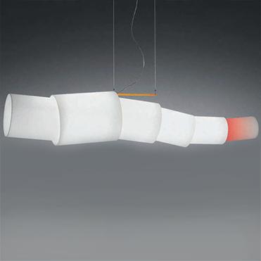 Светильник потолочный Artemide1295010A Noto sospensione fluo