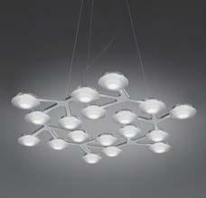 Светильник потолочный Artemide 1575010A LED NET sospensione circolare