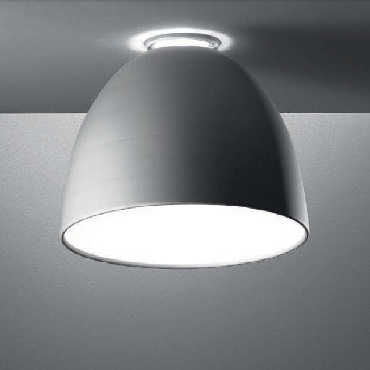 A244210 NUR MINI SOFFITTO halogen 150W - oxidised natural aluminium