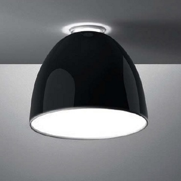 A245510 NUR MINI GLOSS ceiling halo 150W- black