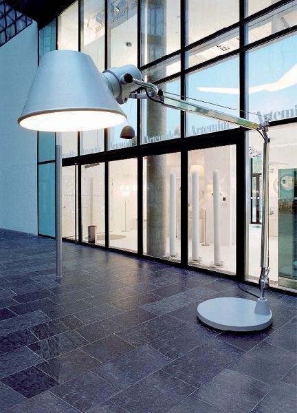Светильник напольный Artemide TOLOMEO XXL terra alluminio