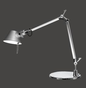 Светильник настольный Artemide TOLOMEO micro tavolo con base alluminio