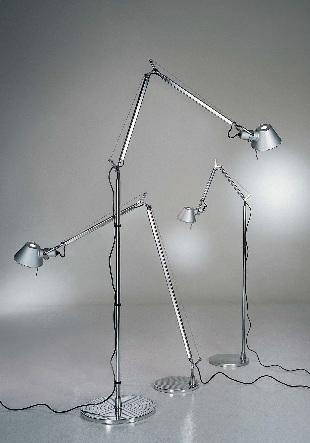 Светильник напольный Artemide TOLOMEO terra alluminio