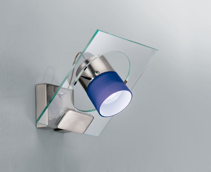 Светильник настенный Aureliano Toso Movy 1 parete cristallo/satinato