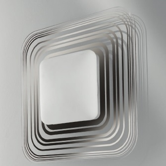 Светильник настенный Leucos Aureliano Toso Cora 45 parete/soffitto platinum