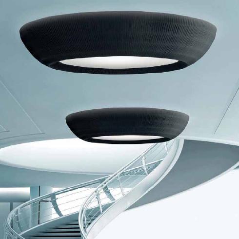 Светильник потолочный AXO Light Bell PL118 E27 giallo