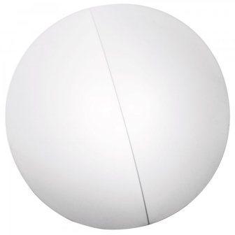 """AXOlight """"Nelly"""" светильник потолочный, эластичная моющаяся ткань, белая фактурная, диаметр плаф"""