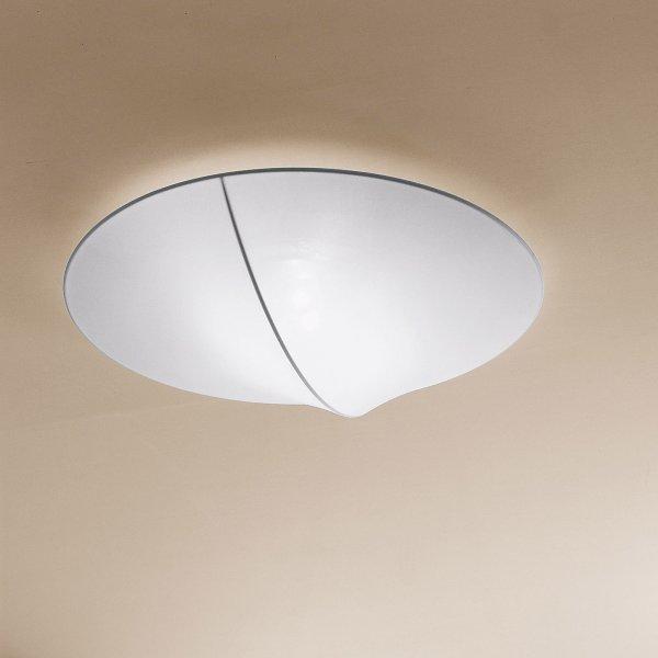 "AXOlight ""Nelly"" светильник потолочный, эластичная моющаяся ткань, белая, диаметр плаф"