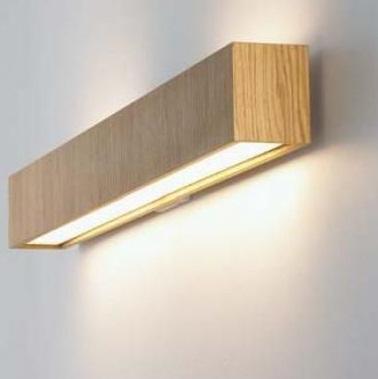 Светильник настенный B-Lux Quadrat 120x10 aplique wenge