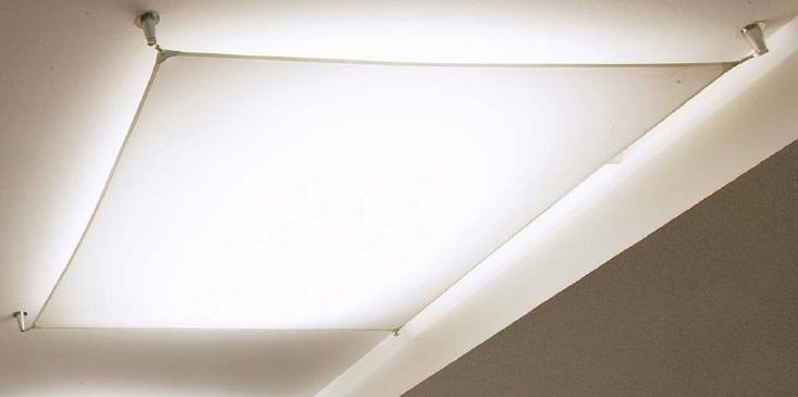 Cветильник в сборе Veroca 1.set (tela blanca)