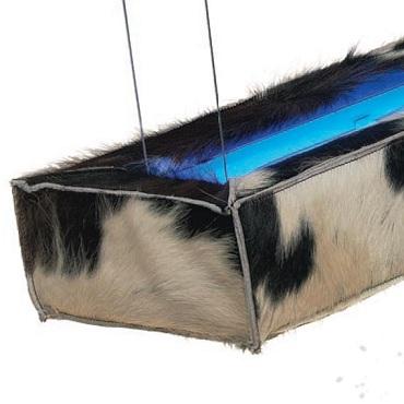 Светильник потолочный Dark d-COW BLUE 1x28W EVG5m (110-40-128-03-B)