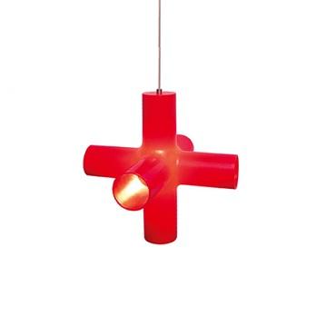 Светильник потолочный DarkCrosslight S red (130-04-001-01)
