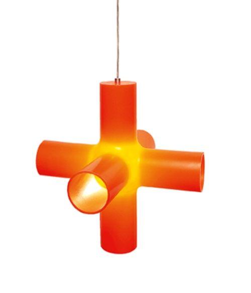 Светильник потолочный Dark Crosslight S orange (130-08-001-01)