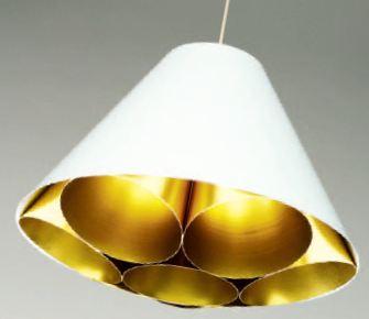 Светильник потолочный Dark LGTM-X01 susp. white/gold