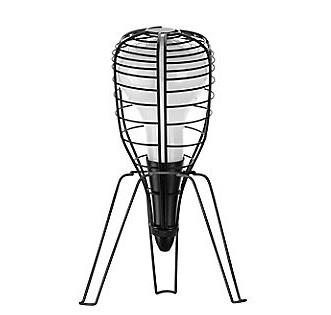 Светильник настольный Foscarini CAGE ROCKET TAVOLO NERO LI0212 10 E