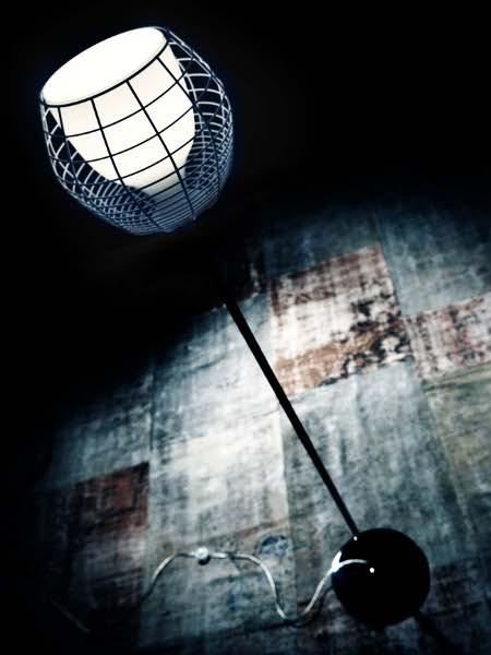 Светильник напольный Foscarini CAGE TERRA NERO/BIANCO LI0232 10 E