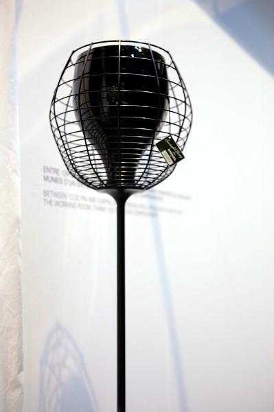 Светильник напольный Foscarini CAGE TERRA NERO/NERO LI0232 20 E