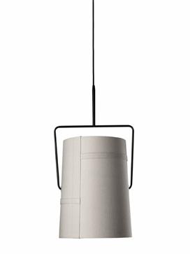 Светильник подвесной Foscarini FORK GRANDE SOSPENSIONE MARRONE/AVORIO LI0471 50 E