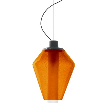 Светильник подвесной Foscarini METAL GLASS 1 SOSPENSIONE AMBRA LI2271 52 E
