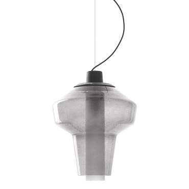 Светильник подвесной Foscarini METAL GLASS 2 SOSPENSIONE GRIGIO LI2272 25 E