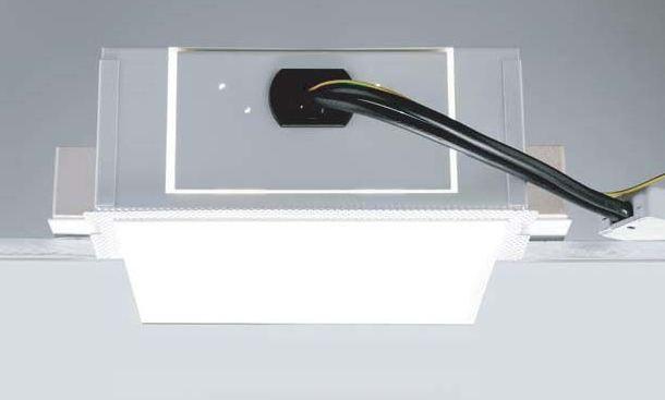 Светильник встраиваемый Egoluce 6603 Minighost up