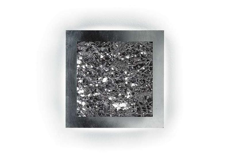 Светильник потолочный Evi Style Groove Q55 silver/sv