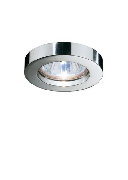 "D55 F02 11 Fabbian Светильник точечный ""Venere"", ᴓ55 мм, ᴓ10 мм, 1х20W, GU4, хром (1 шт.)"