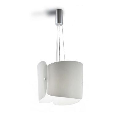 Светильник потолочный Florian SPARTA SOSPENSIONE/HANGING LAMP BIANCO SATINATO (F1.010)