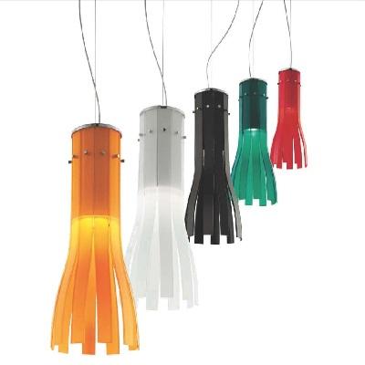 Светильник потолочный Florian RAPÀLA SOSPENSIONE/HANGING LAMP ROSSO (F1.015)
