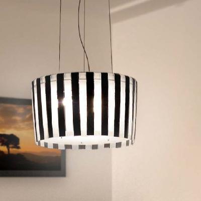 Светильник потолочный Florian PI.KÀ /40 SOSPENSIONE/HANGING LAMP BIANCO-NERO (F1.019)