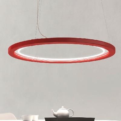 Светильник потолочный Florian Free/100 SOSPENSIONE/HANGING LAMP ROSSO (F1.039)
