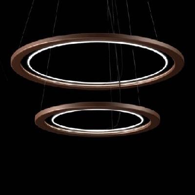 Светильник потолочный Florian Free X2 / 60 SOSPENSIONE/HANGING LAMP MOKA (F1.046)