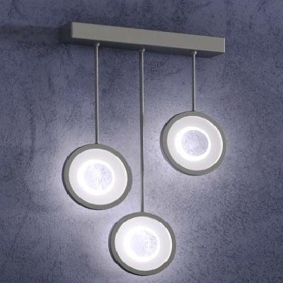 Светильник настенный Florian Circle L3 PARETE / WALL LAMP CROMO PERLATO (F3.016)