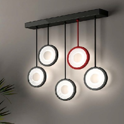 Светильник настенный Florian Circle L5 PARETE / WALL LAMP CROMO PERLATO (F3.019)
