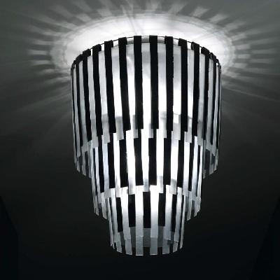 Светильник потолочный Florian PI.KÀ /800 SOFFITTO / CEILING BIANCO-NERO (F3.048)